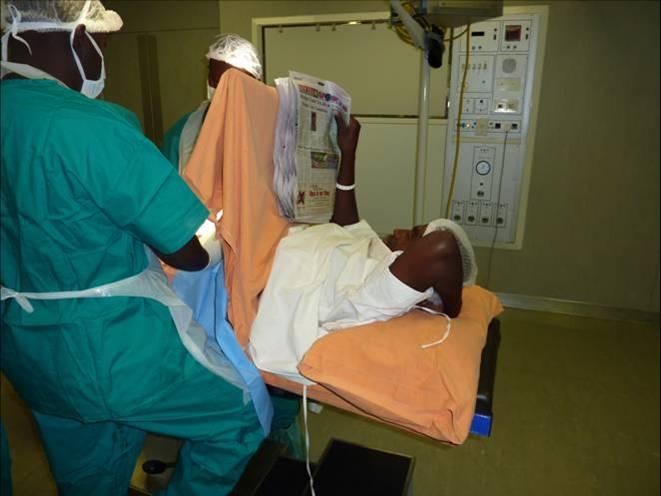 adult male circumcision procedure