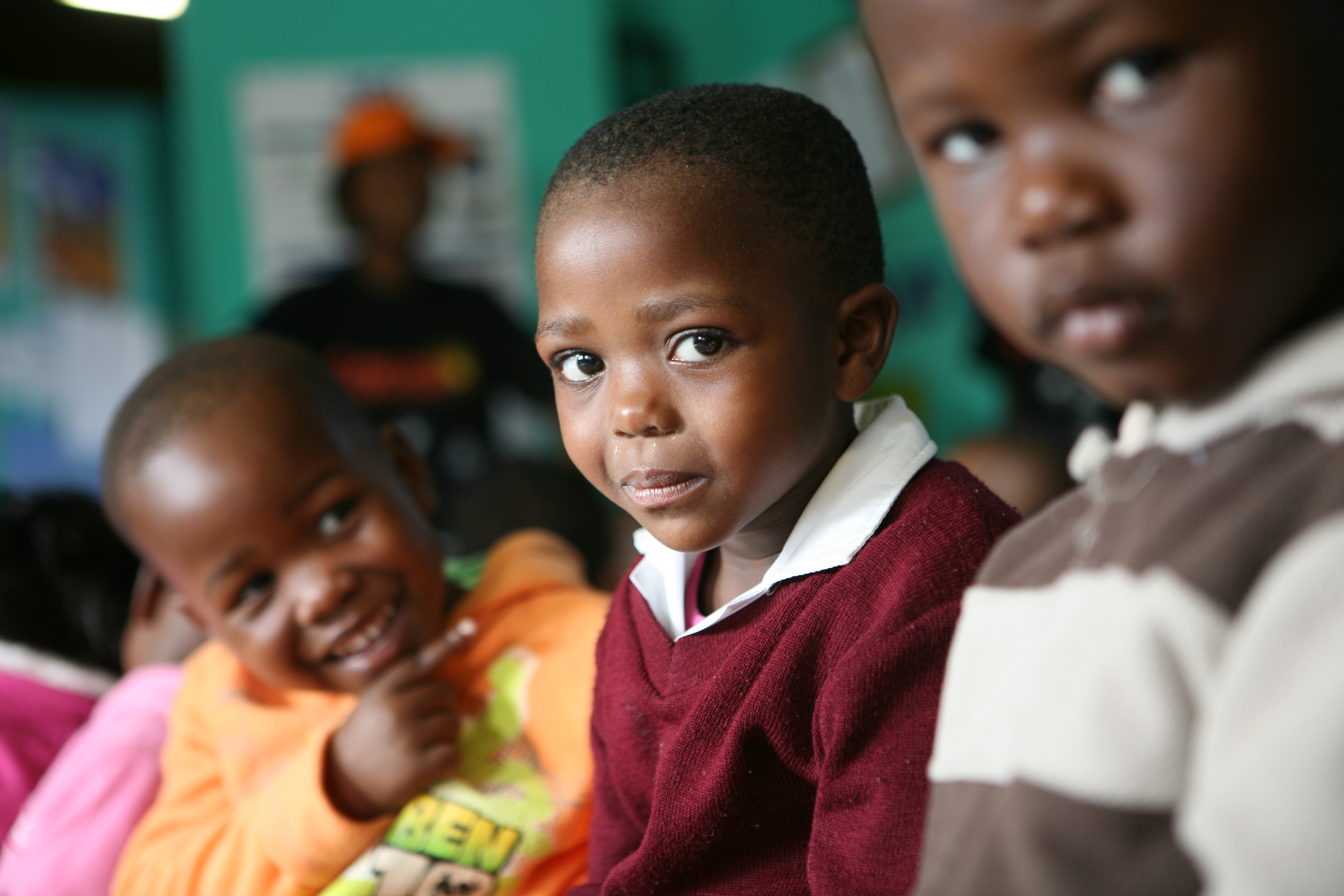 School children in South Africa. For generic use