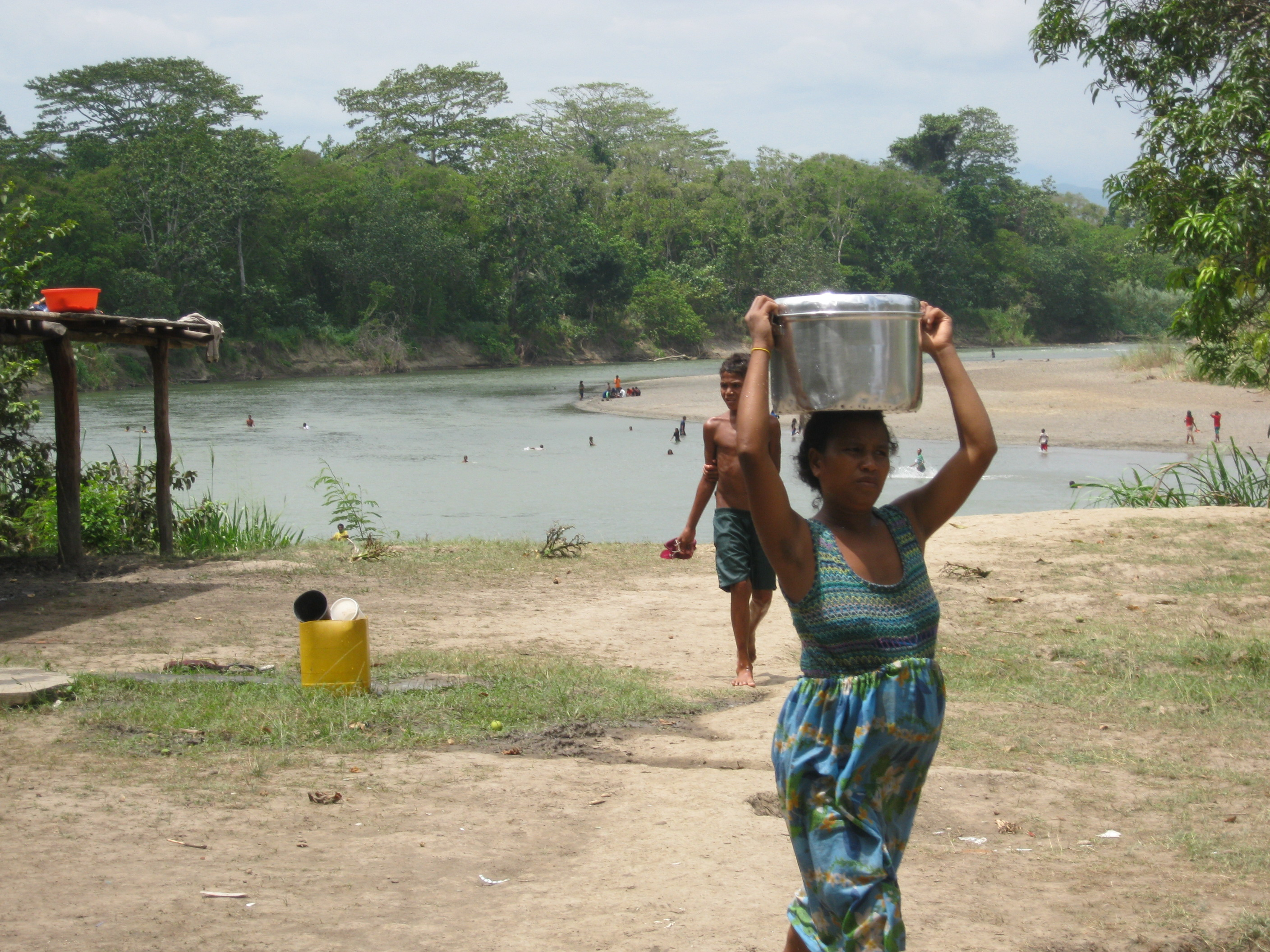 Rigo, Central Province of Papua New Guinea, hit by cholera in the latest 2009-2010 epidemic