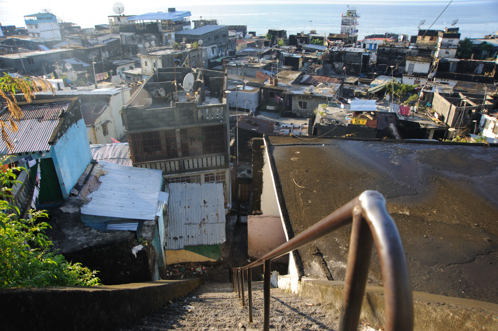 The Medina in the Anjouan capital of Mutsamudu in the Comoros