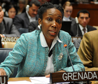 H.E. Dr. Dessima Williams, Ambassador Extraordinary and Plenipotentiary Permanent Representative of Grenada to the United Nations