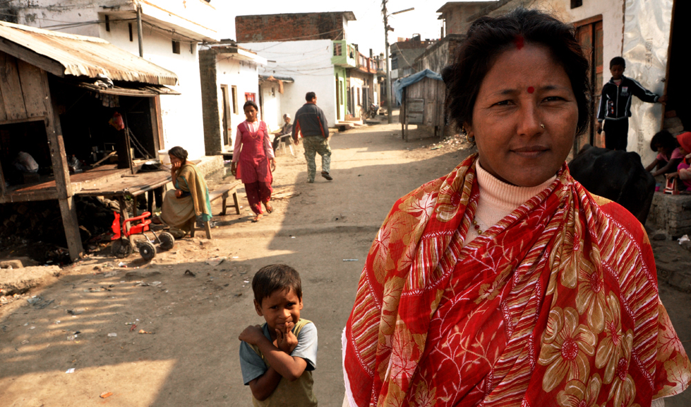 Chandra Kala Gurung door-stops both women and men in the Nepali border city, Nepalganj, to talk sex