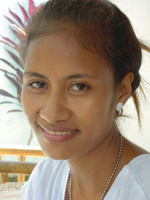 Sexual violence survivor in Timor-Leste, Elviana Alves Freitas