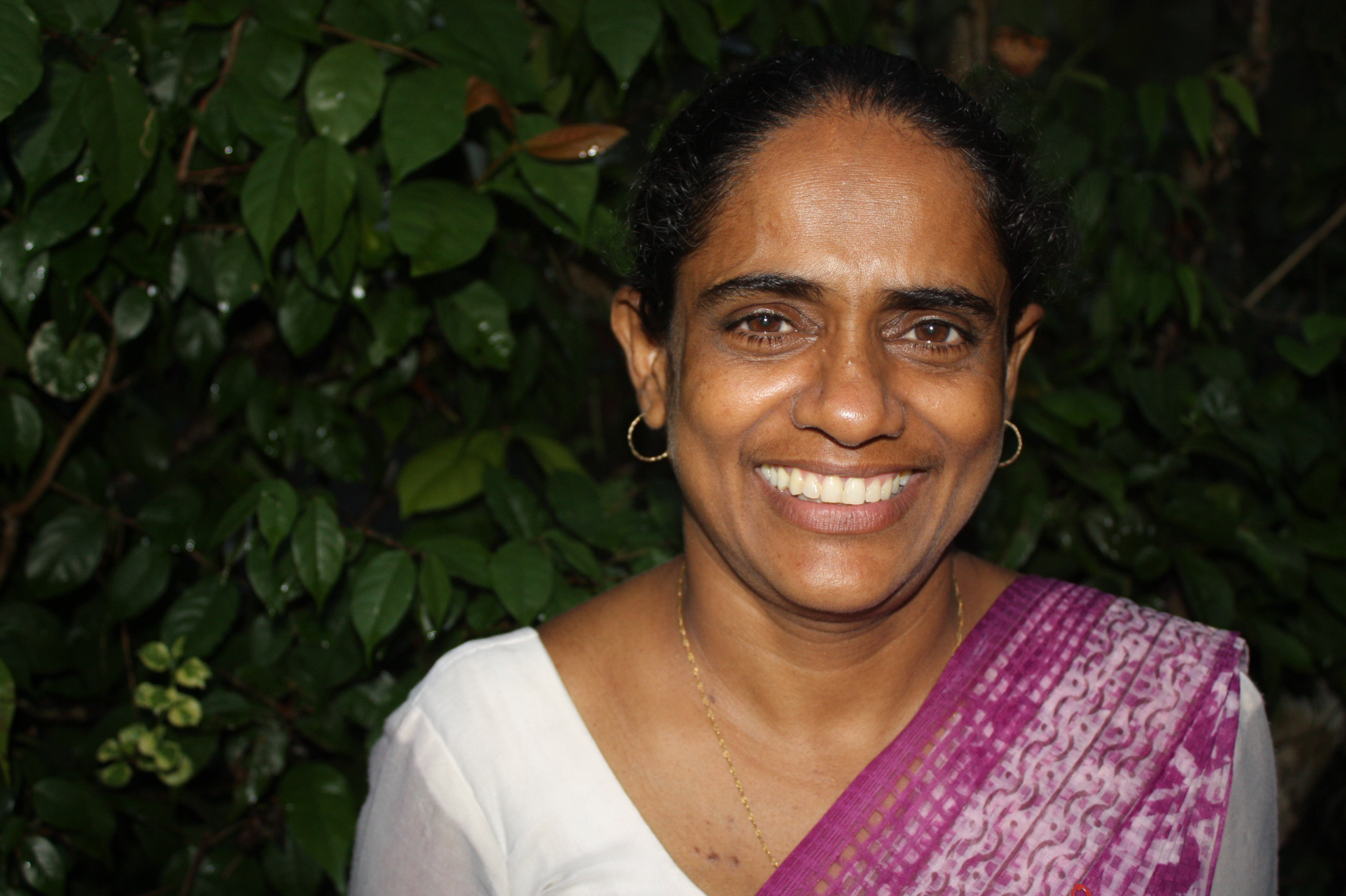 Princey Mangalika is director of the Positive Women's Network in Sri Lanka, an NGO working to assist women and families living with HIV