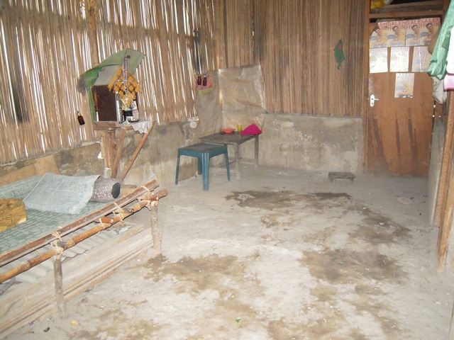 Room that serves as village health clinic in eastern Indonesia's Kupang province