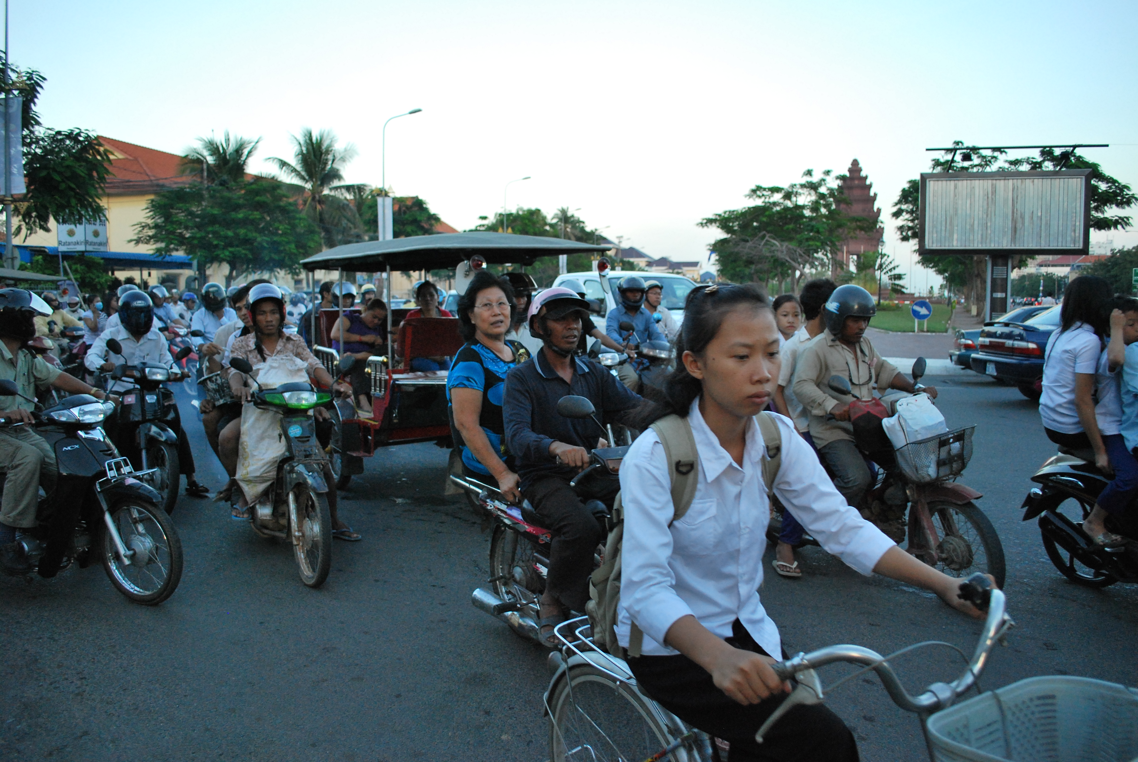 Traffic accidents are now a major public health concern in Cambodia, where 4.7 people die each day