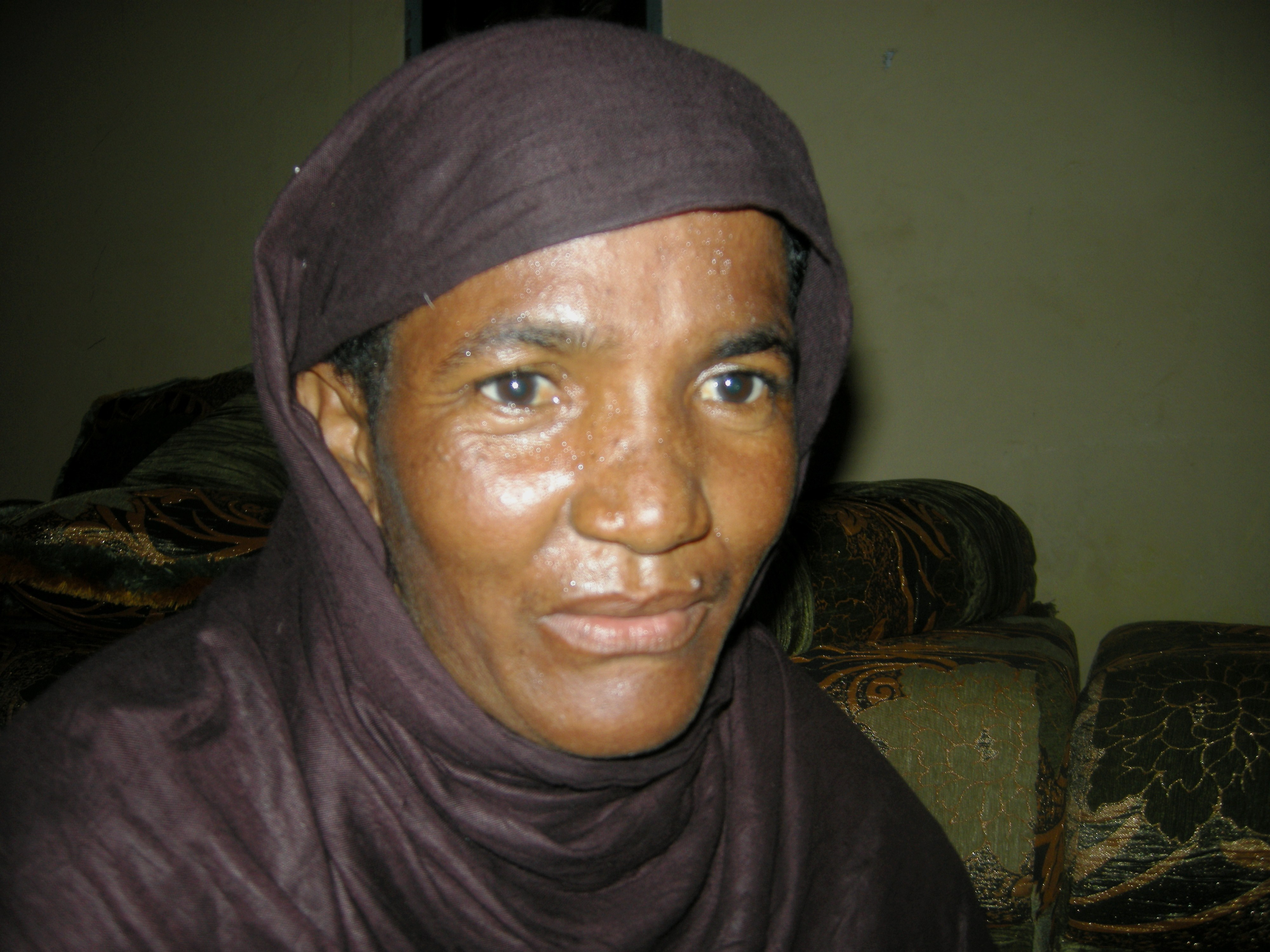 Former slave in Mauritania. December 2010
