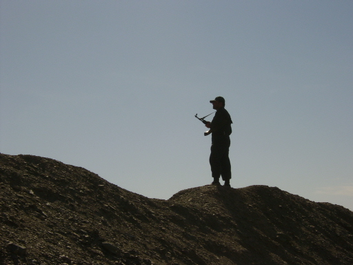 Patrolling the long, desolate Iran-Afghanistan border is a lonely business