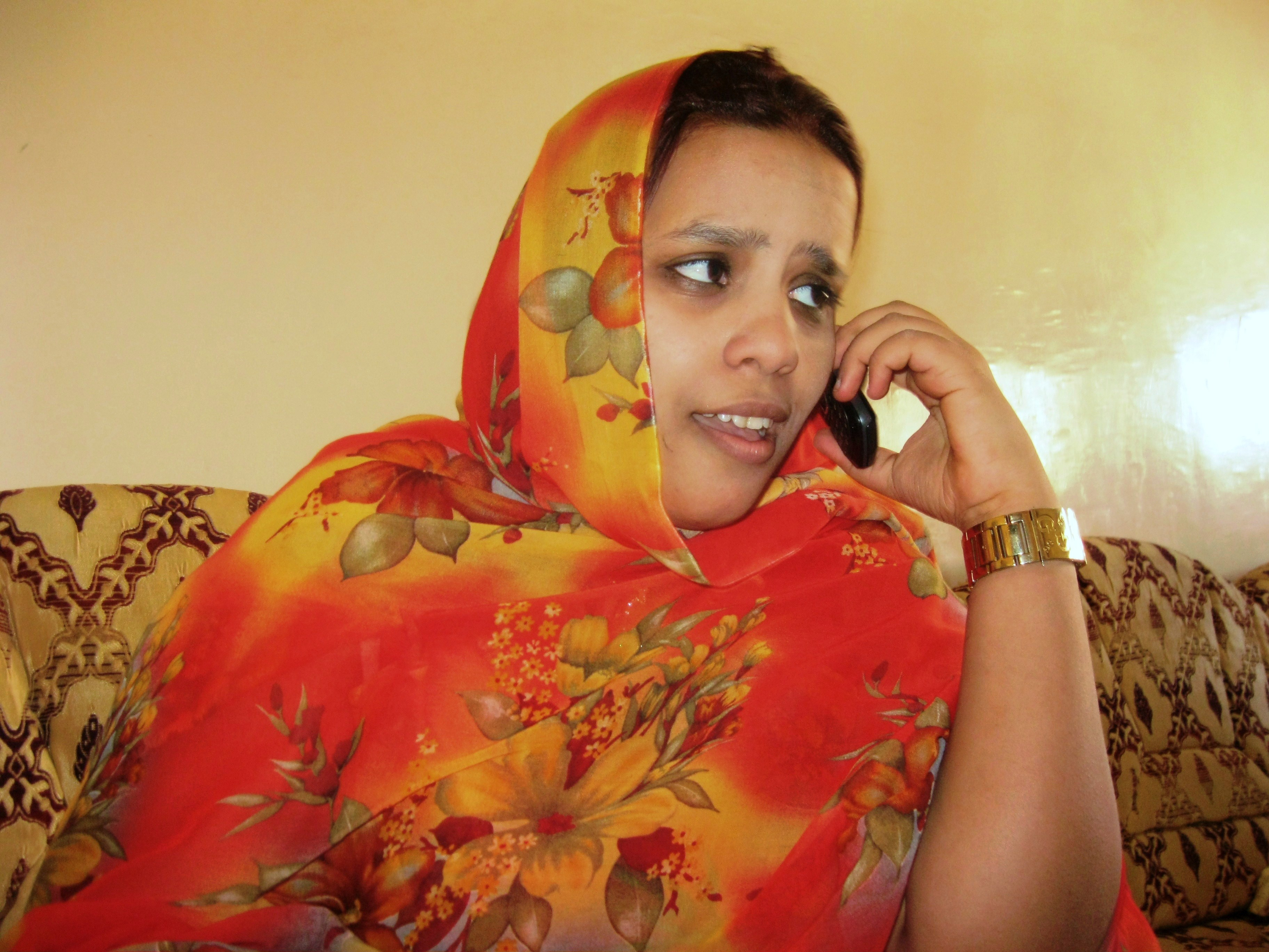 A young woman in Mauritania