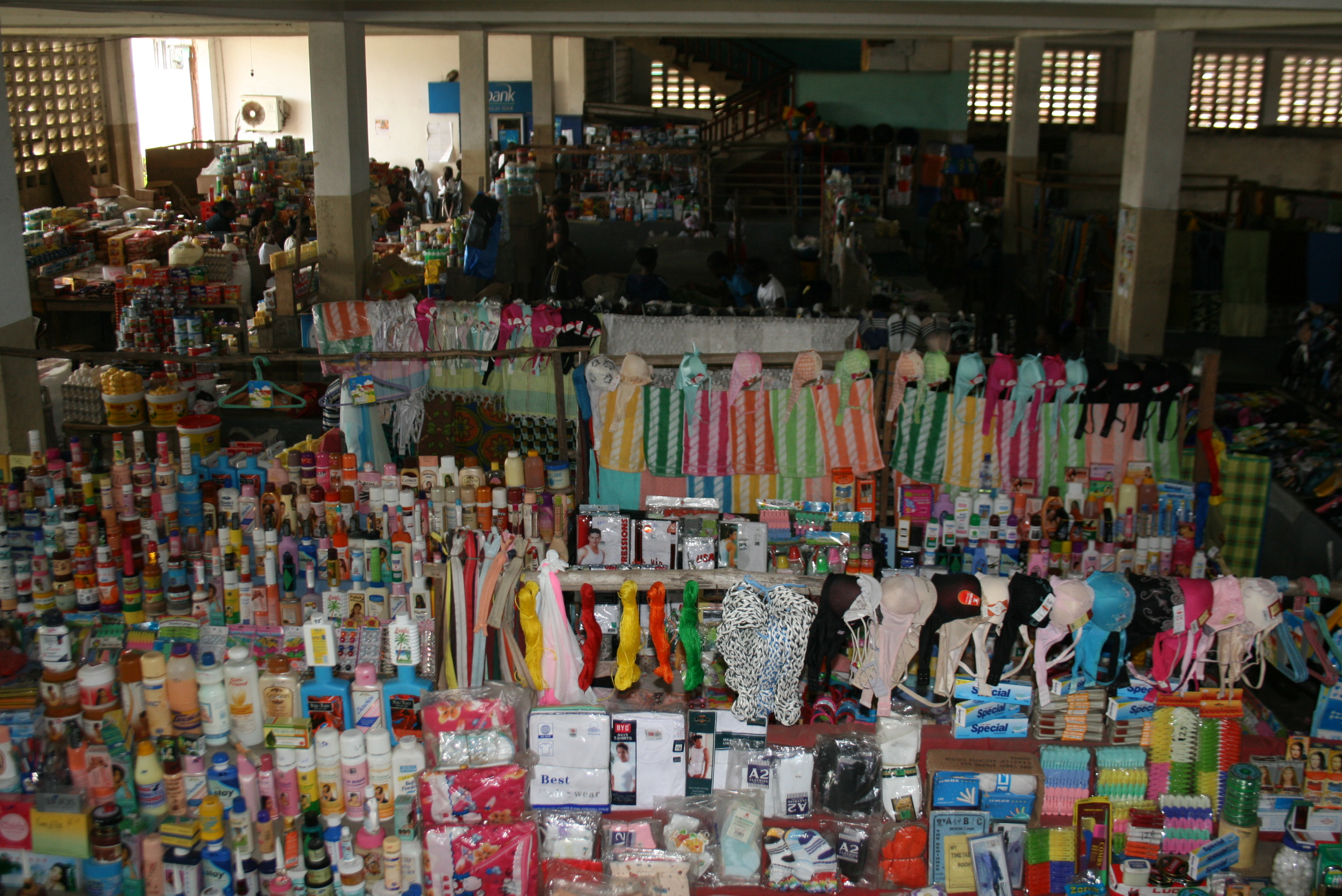 Prices of ordinary goods are up at Nancy B Doe Market in Monrovia, say sellers