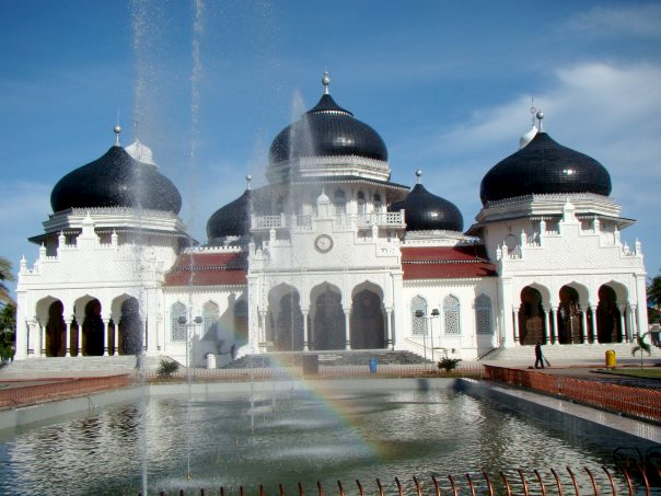 The Grand Mosque in Banda Aceh, Sumatra