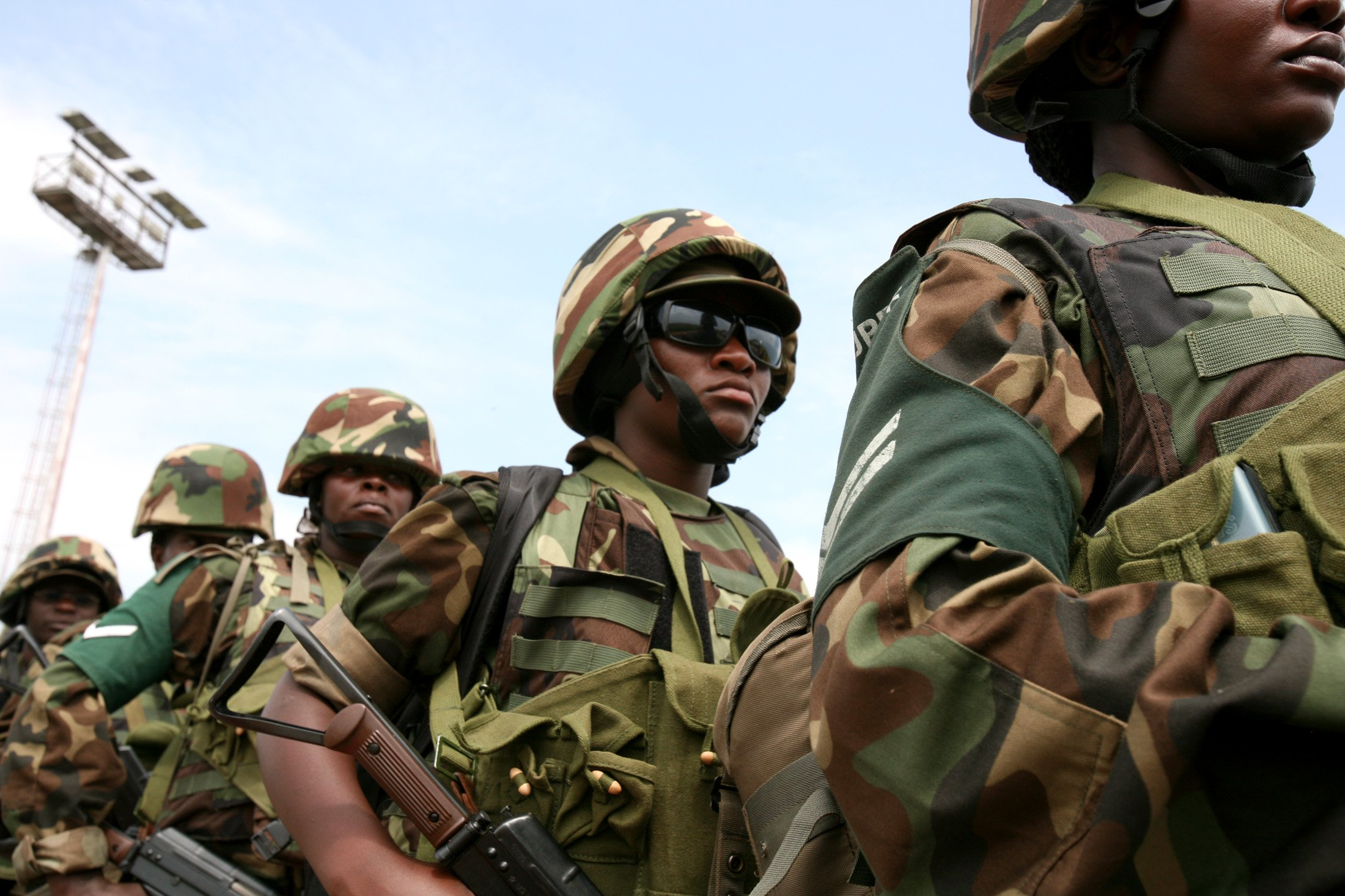 Ugandan AMISOM battle group 8 soldiers about to deploy to Mogadishu
