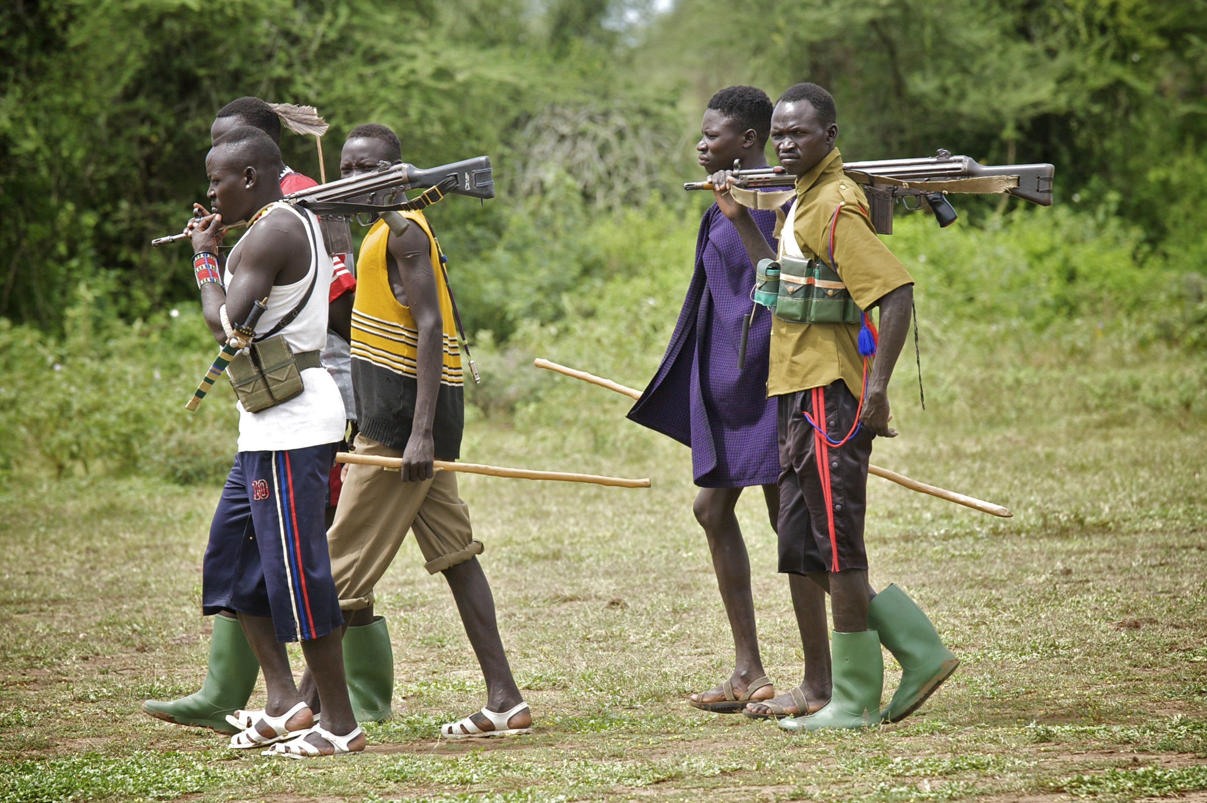 Guns remain within Karamoja and are prevelent across its borders with Turkana and Toposaland