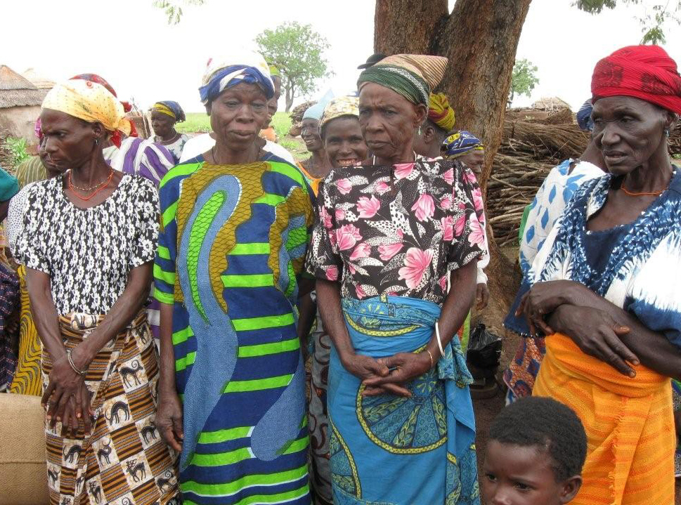"Accused ""witches"" gather at Nabuli camp in northern Ghana"