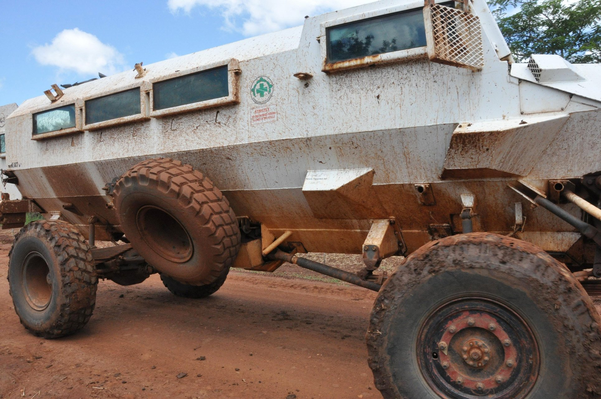 Demining Vehicle