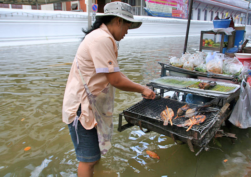 Flooding in Bangkok, Thailand