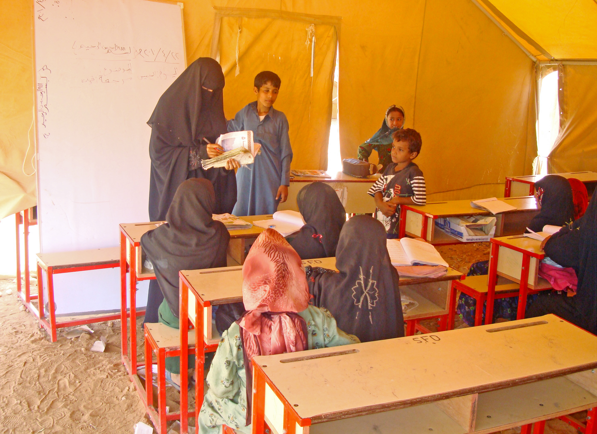 Child marriage is one of factors disrupting girls' education in Yemen