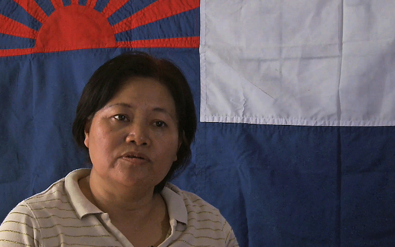 Zipporah Sein,  a Karen activist and general-secretary of the Karen National Union (KNU)