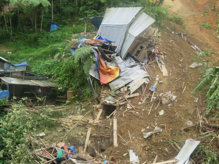 More than 35 people lost their lives on 5 January 2012 in the aftermath of a landslide in the Philippines' Compostela Valley
