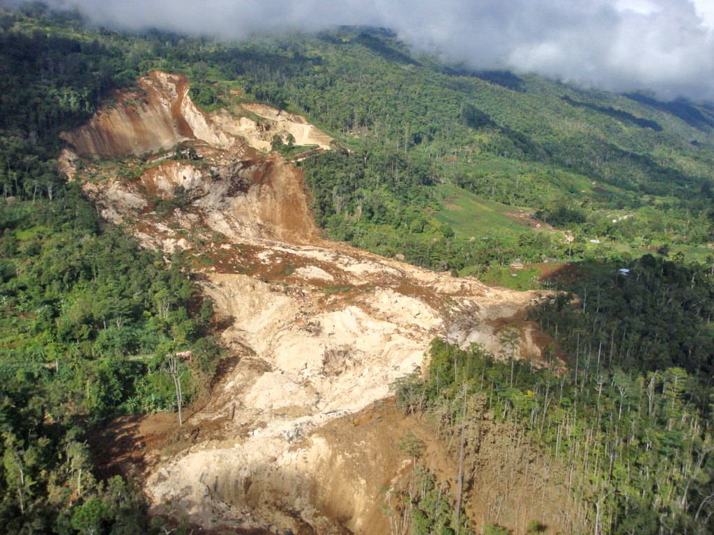 Dozens are feared dead following a landslide on 24 January in Komo Maggarima District in Hela Province