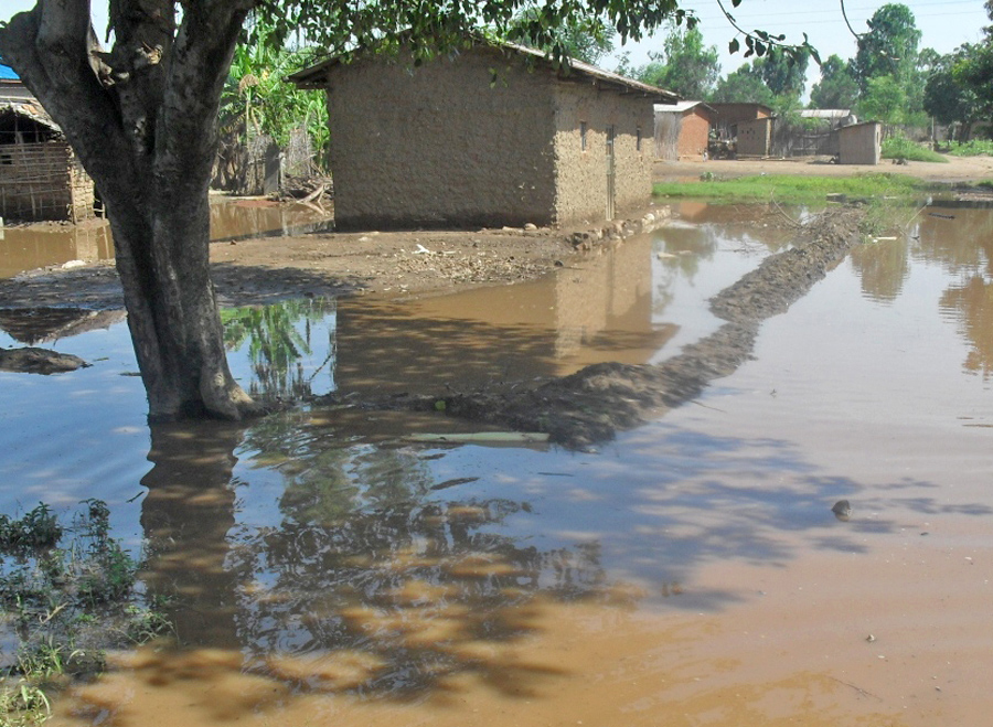 Heavy rains have caused flooding in Gatumba