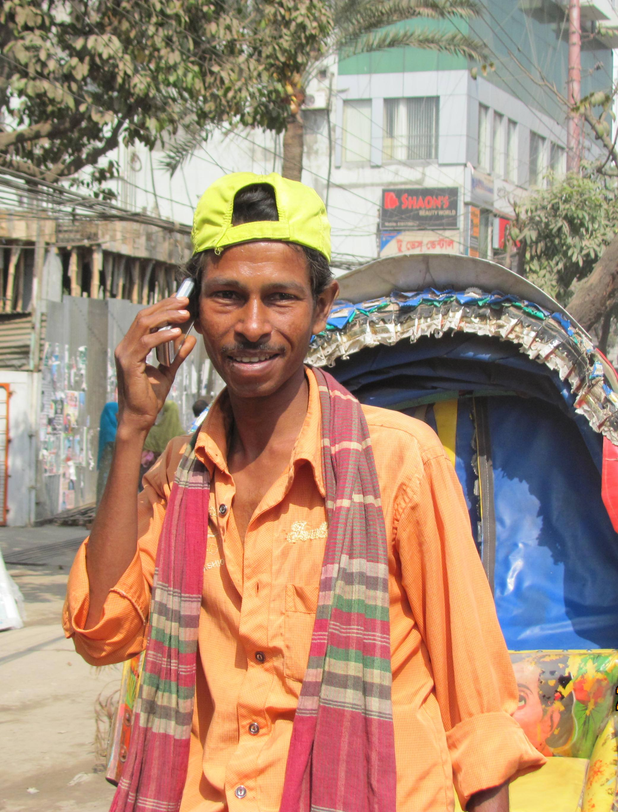 Shamsul Islam, 35, a rickshaw puller in Mirpur sub district in Dhaka