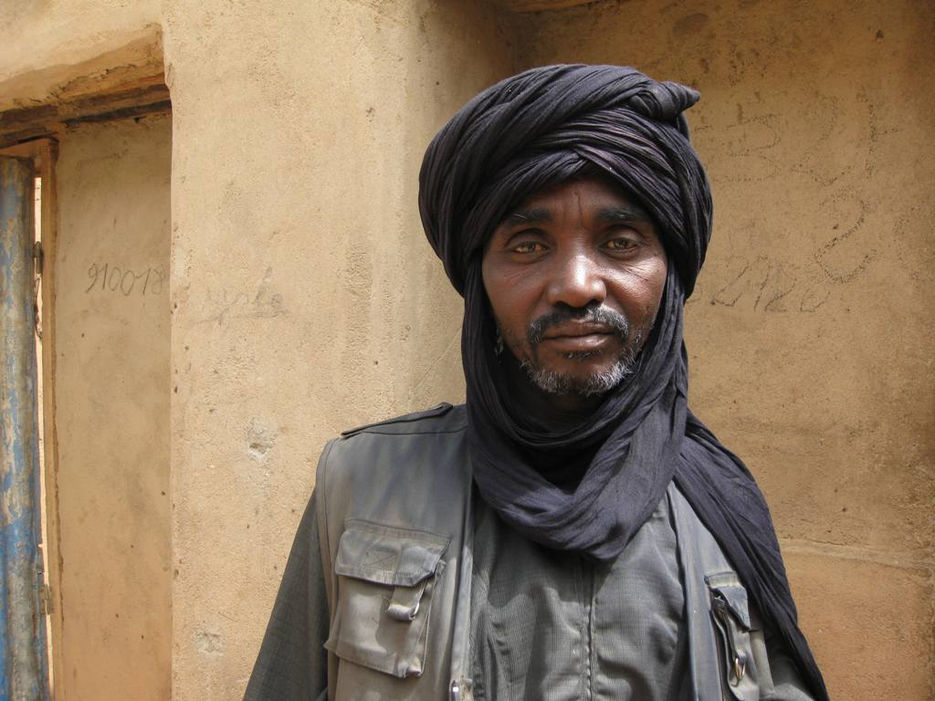 Nassamu Malan, the Foudouk village chief in Niger