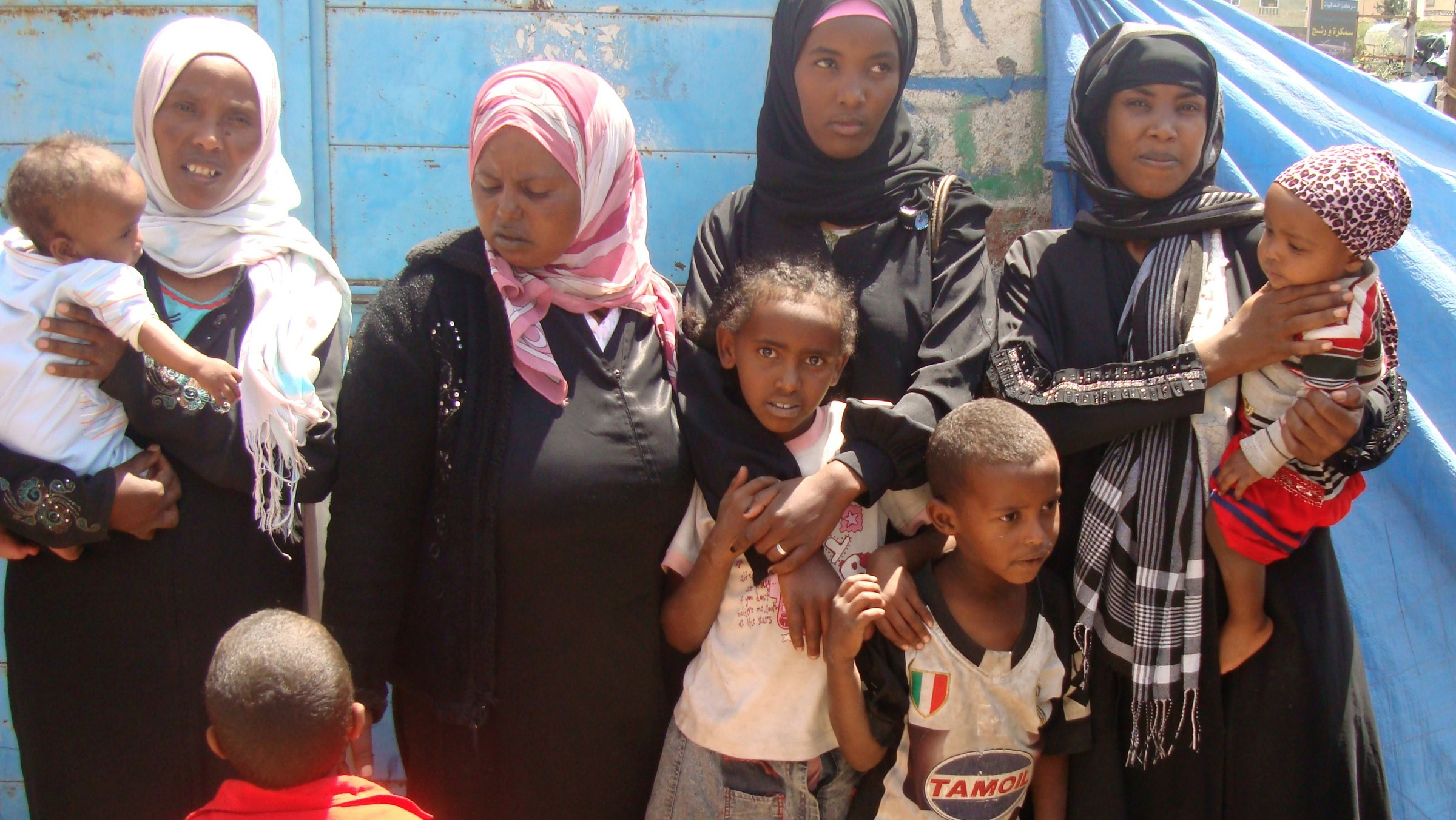 African migrants in Yemen