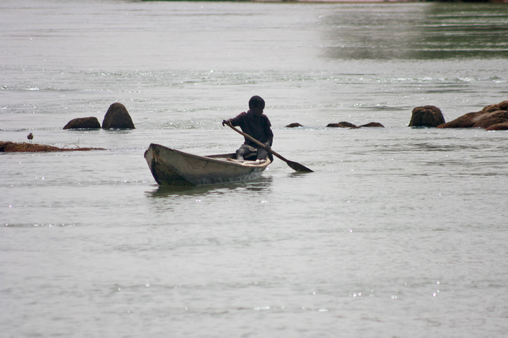 The Niger river in Ayorou town in Niger's Tillaberi region