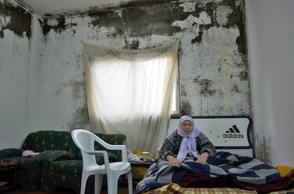 Um Mohamed, 82, is a Syrian refugee from Homs, now living in a rented home in the Jordanian capital Amman, where water comes once a week