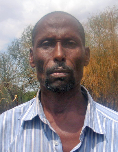 Abdi Adan, who has been displaced by violence in the central county of Isiolo. Hundreds of families' there have been displaced as deadly clashes pitting the Borana, Somali and Turkana communities escalate