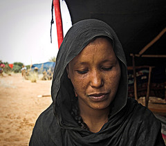 Woman in northern Mali