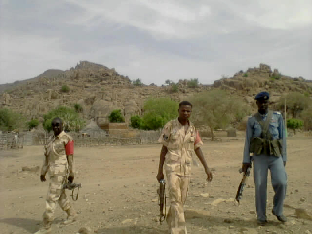 Town of Taludi, in Southern Kordofan has turned into a military zone