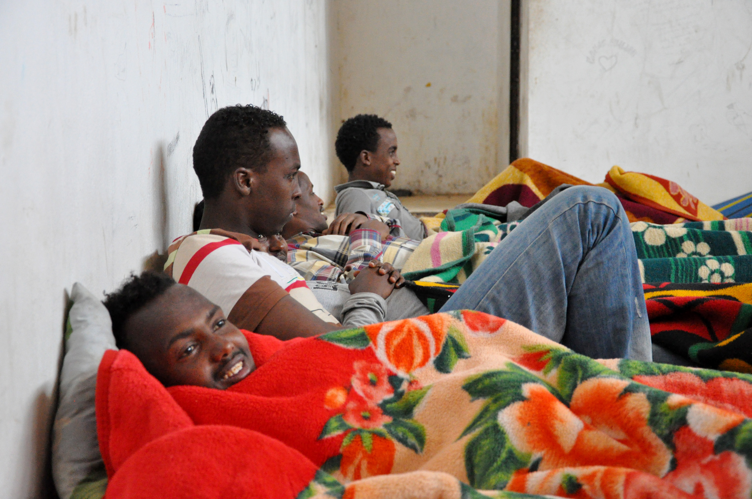 Somali migrants make up the majority of detainees in Ganfouda detention centre, according to the authorities
