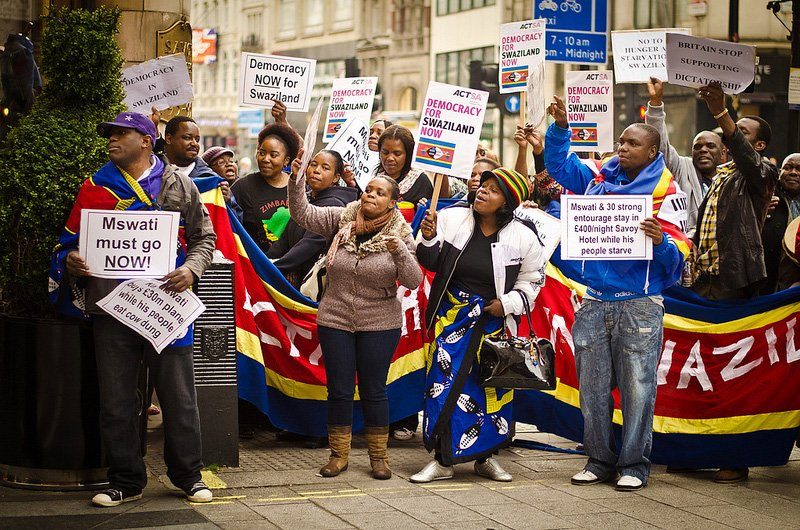 Swaziland protest. For generic use