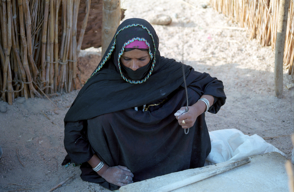 Bedouin woman in the Sinai