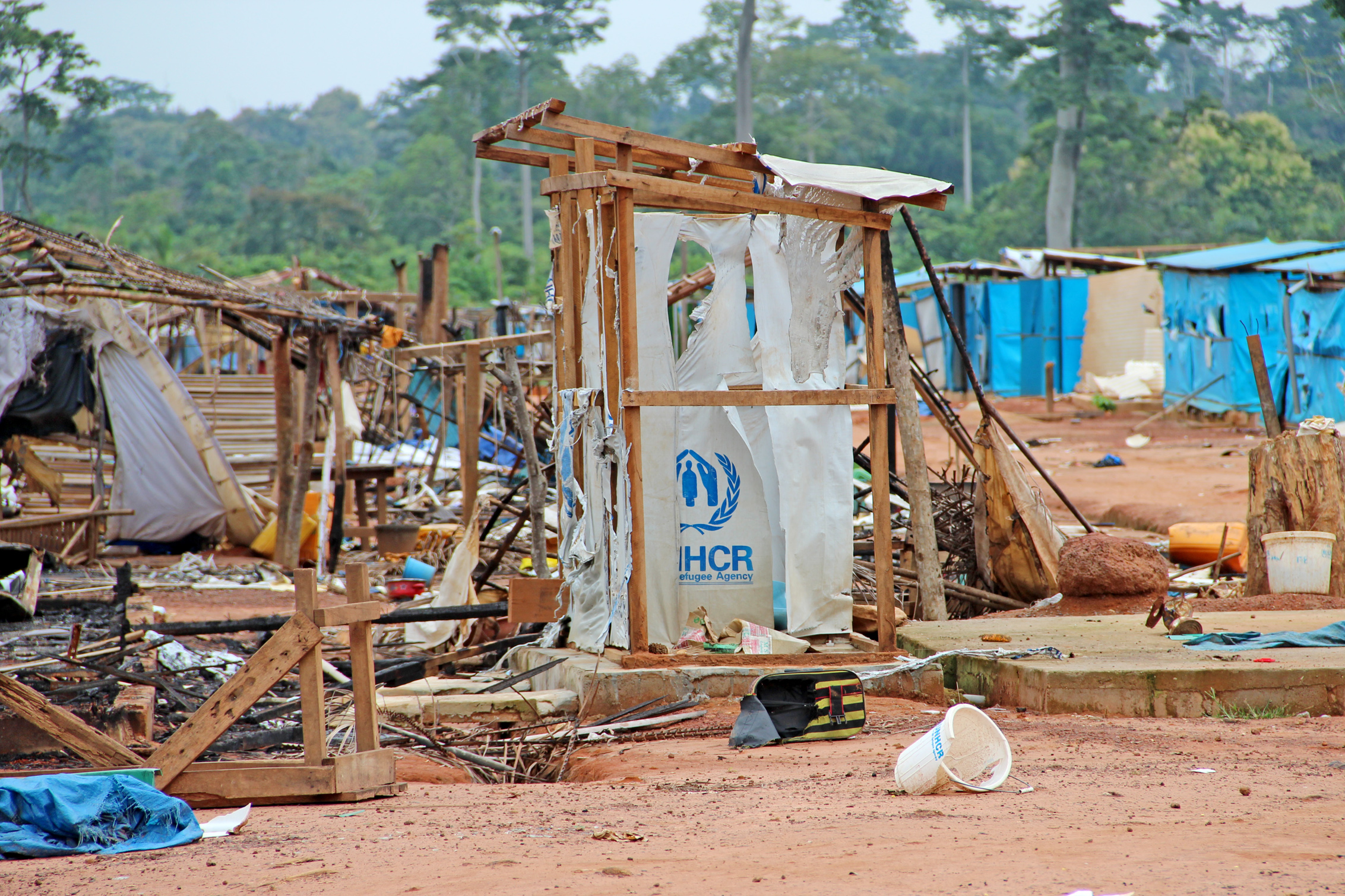 Côte d'Ivoire's western region has been plagued by violence triggered by political and ethnic rivalry as well as land disputes. The Nahibly camp was the last IDP refuge in the country after the 2010-11 election unrest that claimed some 3,000 lives