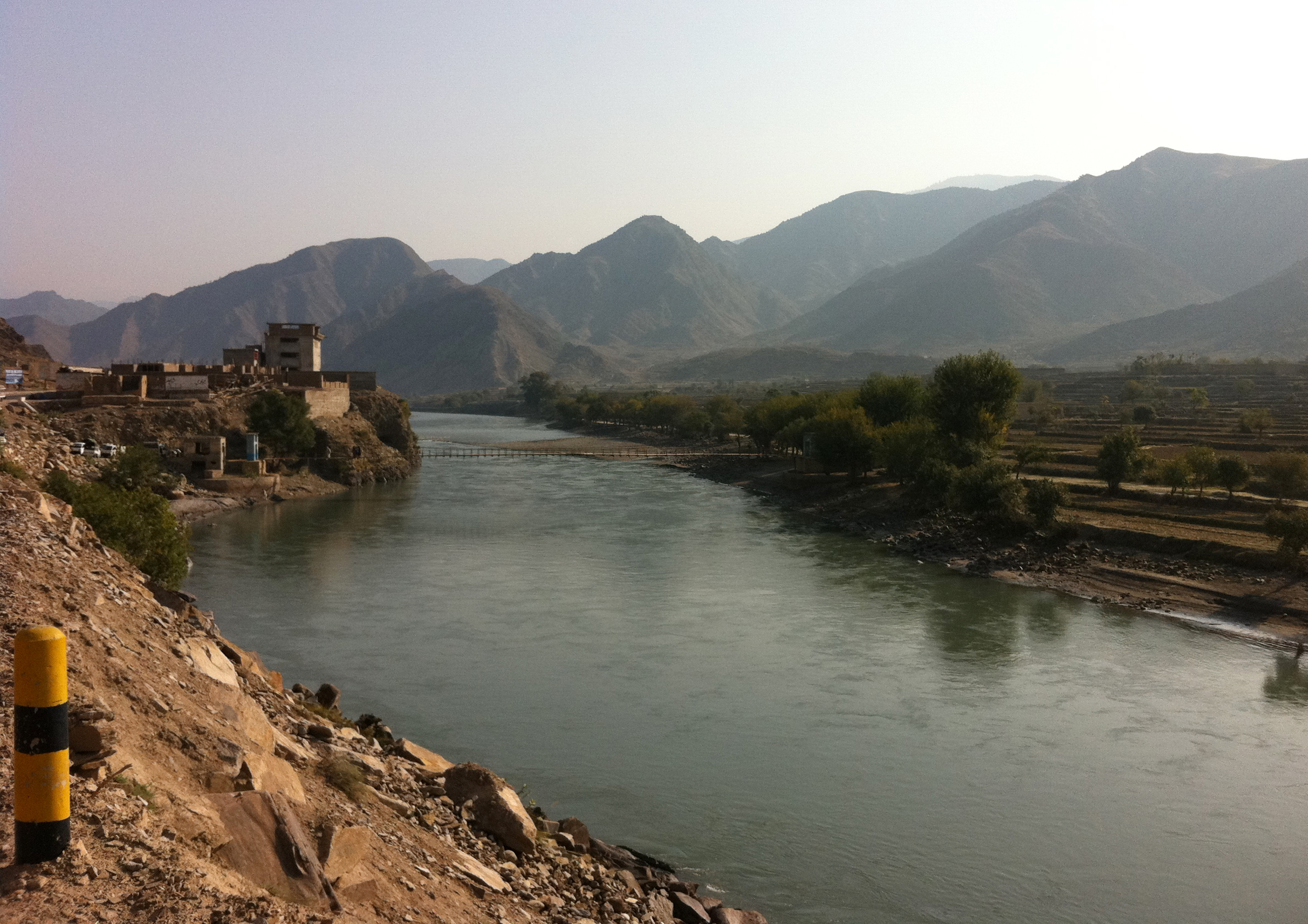 Marawara district in eastern Kunar province shares a border with Pakistan. Dangam district, the most affected area in the recent cross-border attacks is situated directly above Marawara