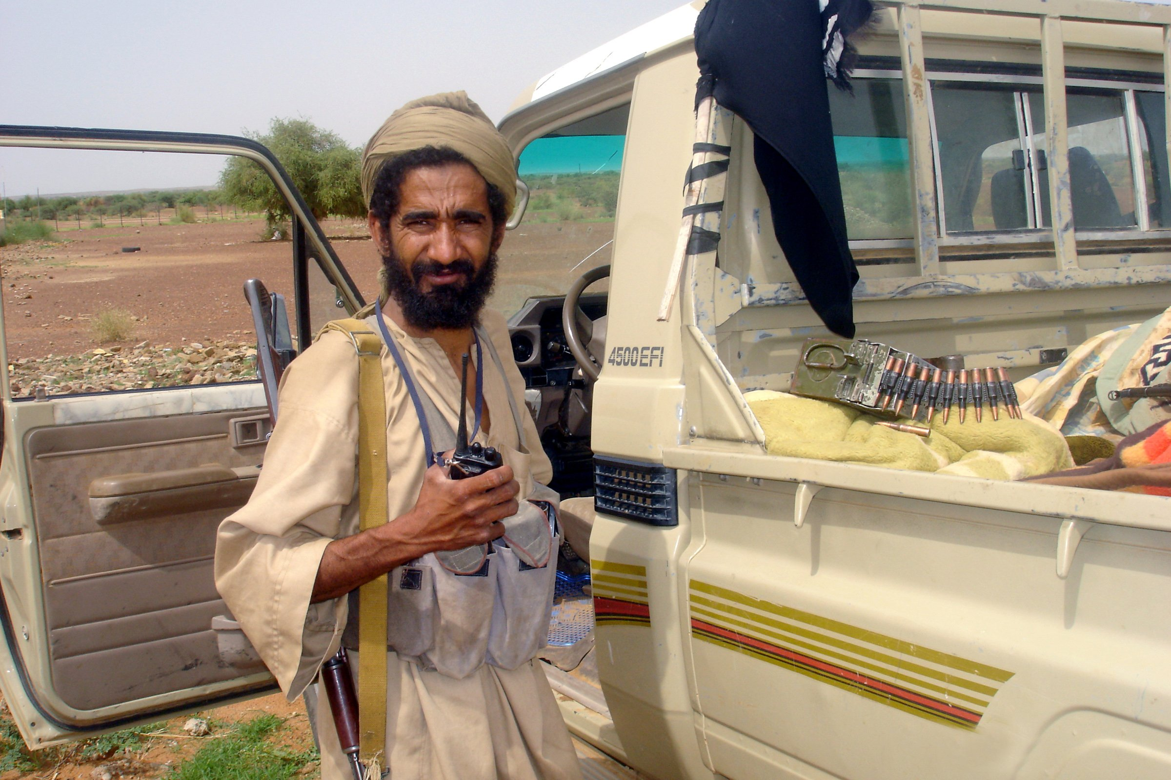 MUJAO: Commander with the Unity Movement for Jihad in West Africa (MUJAO) in Gao