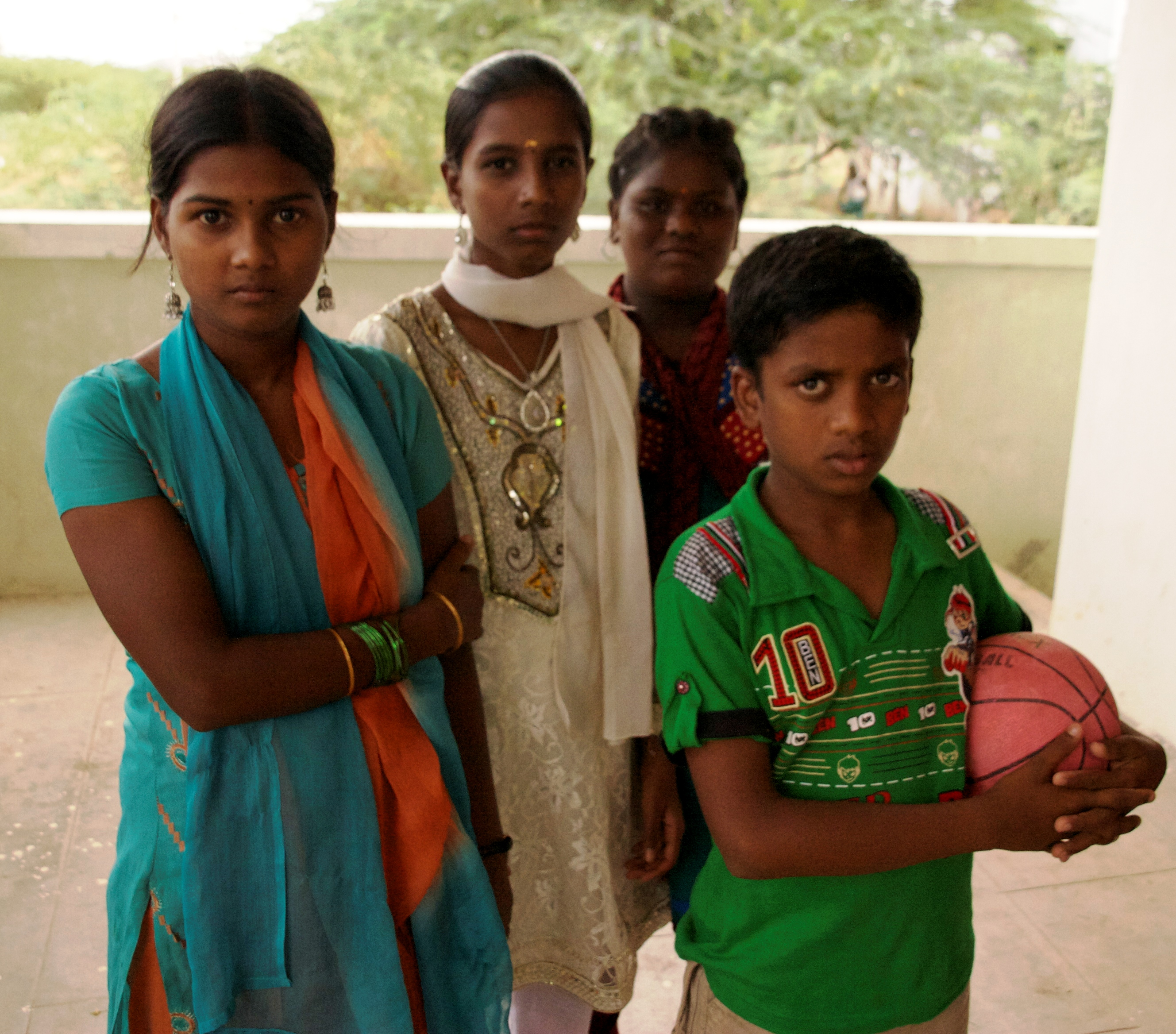 A group of Tamil refugees in Tamil Nadu. There are more than 100,000 Sri Lankan refugees in India