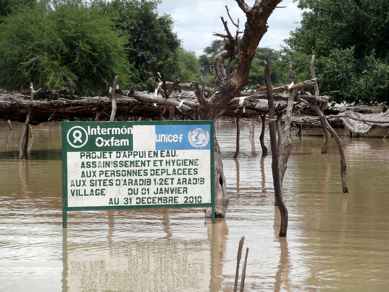 On 5 August 2012, the Bahr Azoum wadi (river) burst its banks, flooding several IDP and refugee sites around the town of Koukou, Eastern Chad