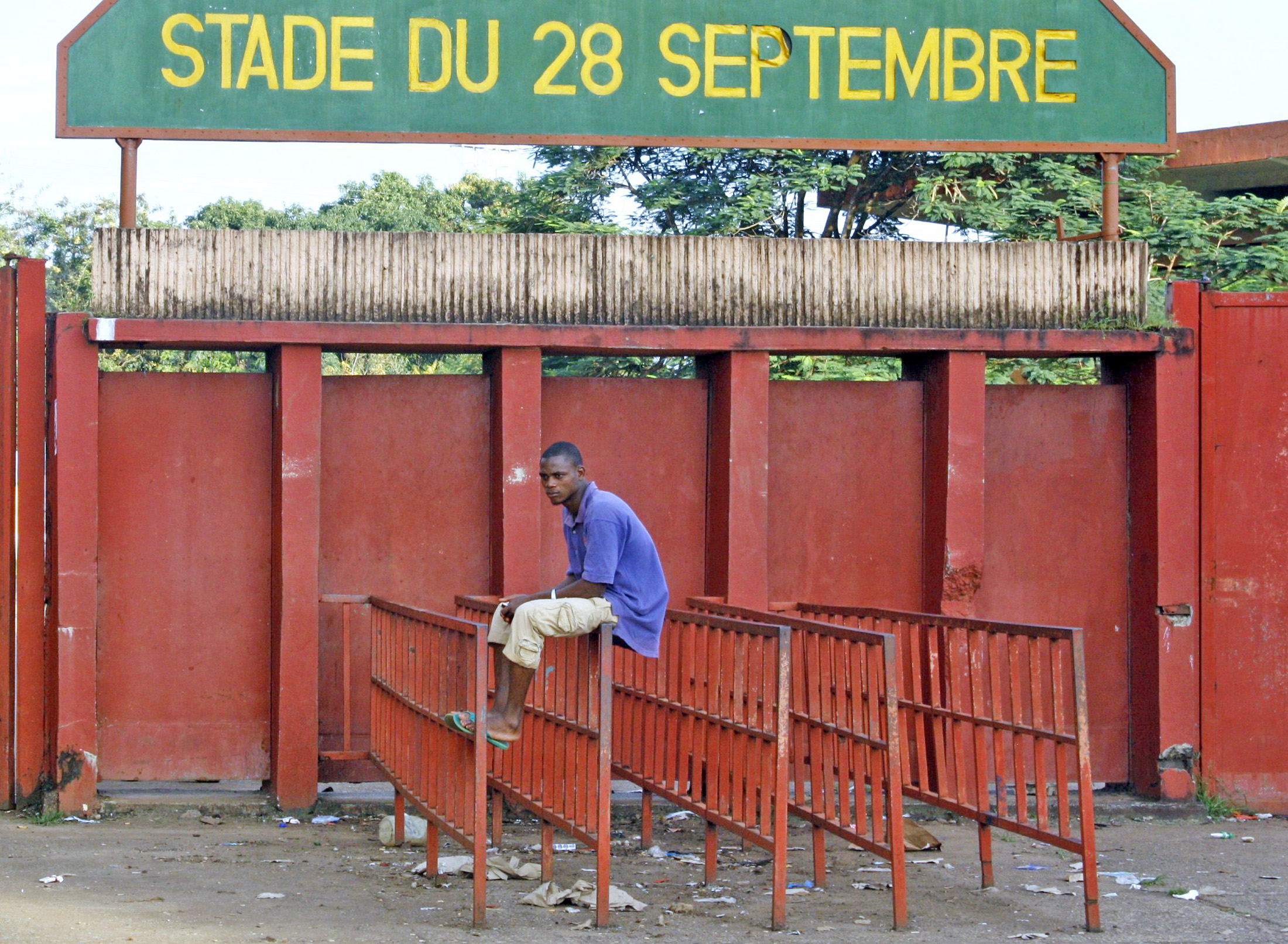 Hundreds of people were killed and injured, and hundreds of women raped at the 28 September Stadium in 2009