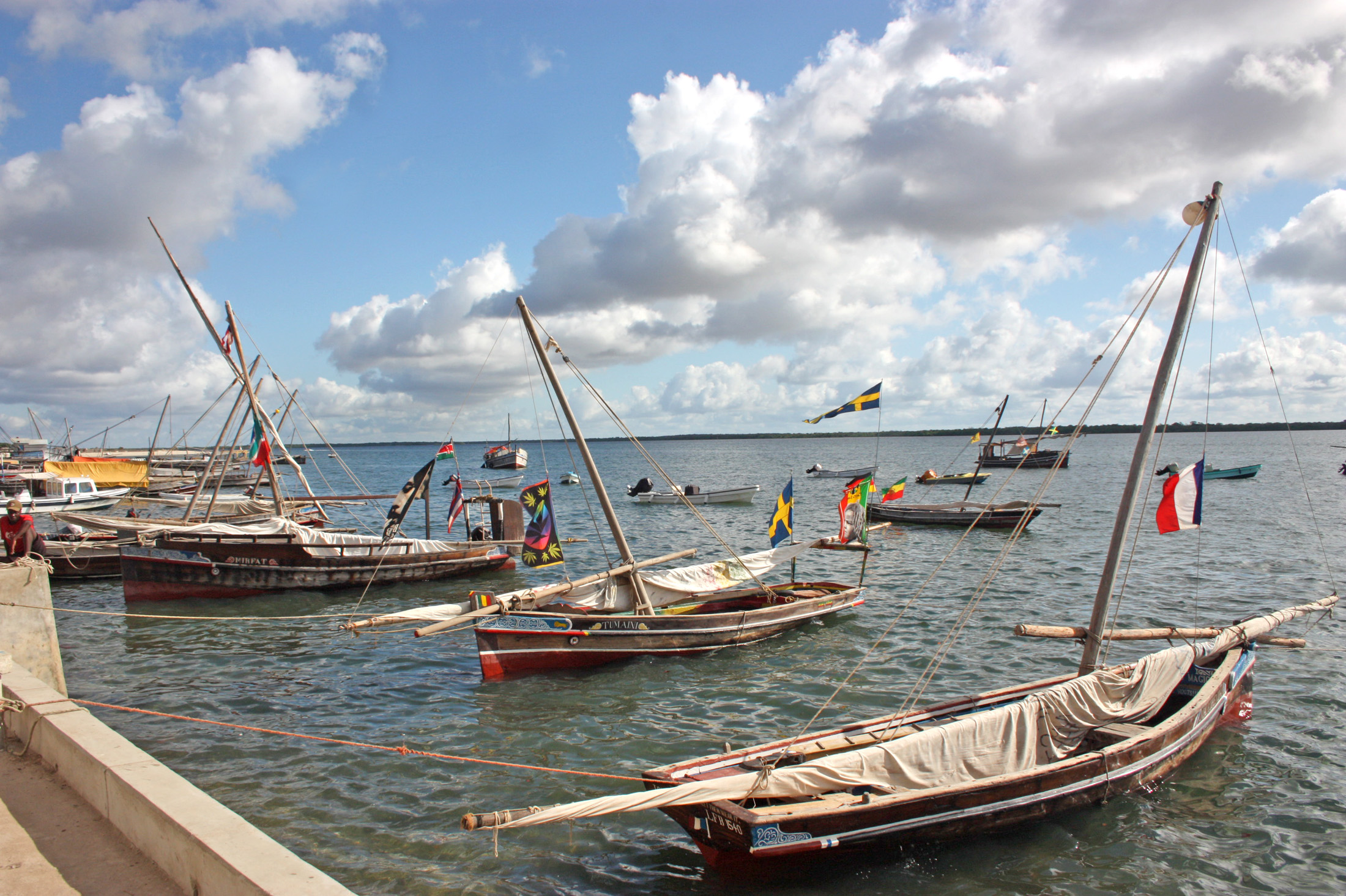 Fishermen in Lamu say the proposed construction of a sea port there threatens their livelihood