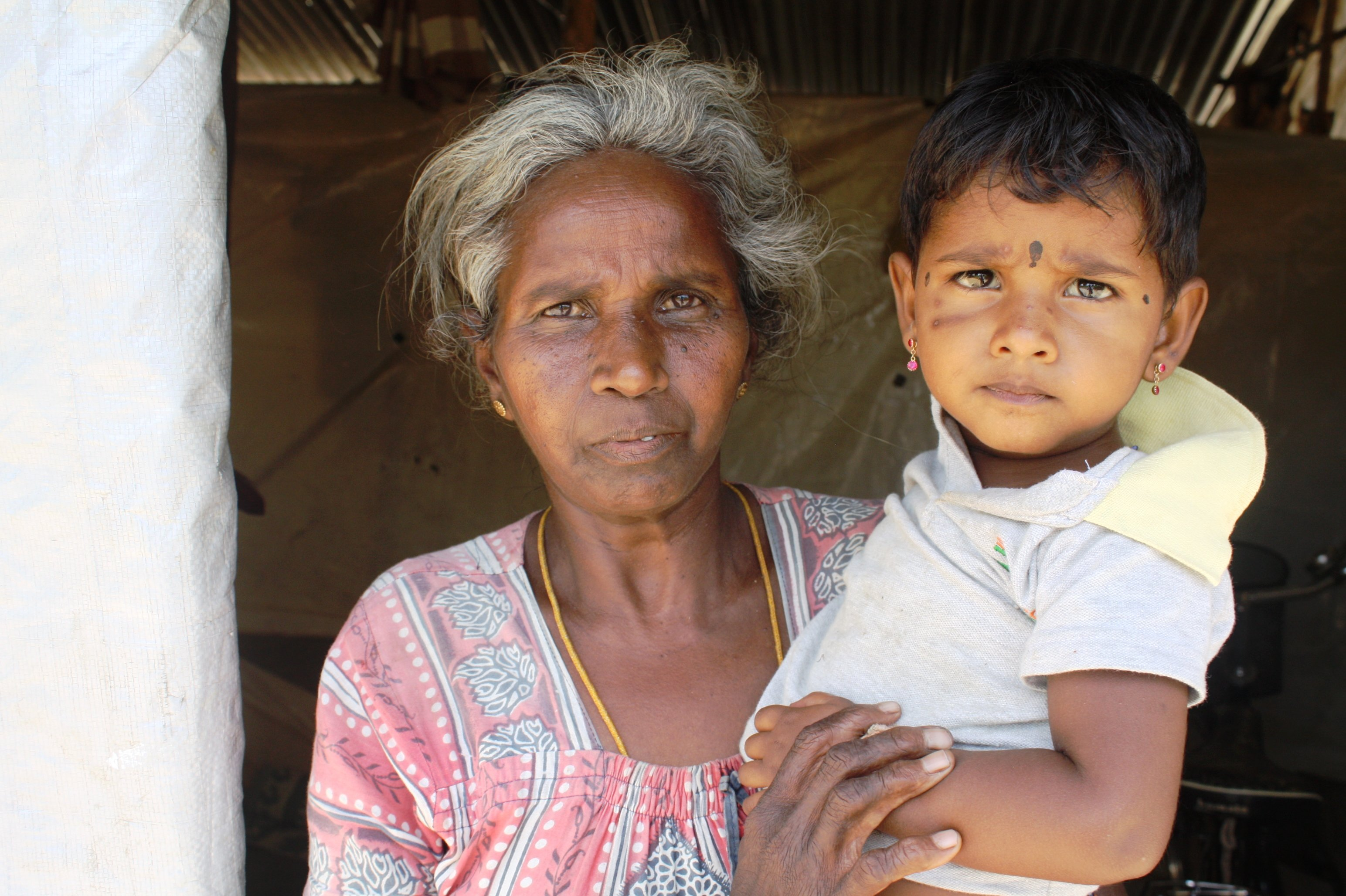Thangeswary Karuppaiyah, a 55-year-old grandmother and recent returnee to Kilinochchi District, has lived in transitional for more than three years
