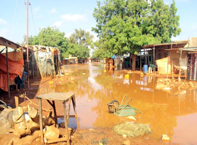 Recent flooding in Qorilugud District in Somaliland's Togdheer region