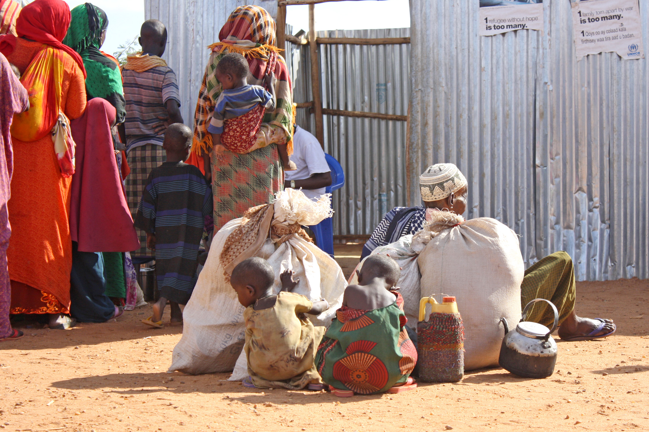 A year after the famine in 2011 Somali refugees are still arriving in the Dollo Ado refugee complex in Ethiopia's Somali region