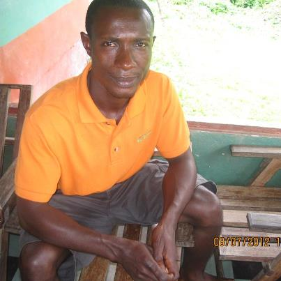 John Tamba is a maths teacher in Paynesville, Monrovia. He earns $100 a month, which he says is not enough to live happily. October 2012