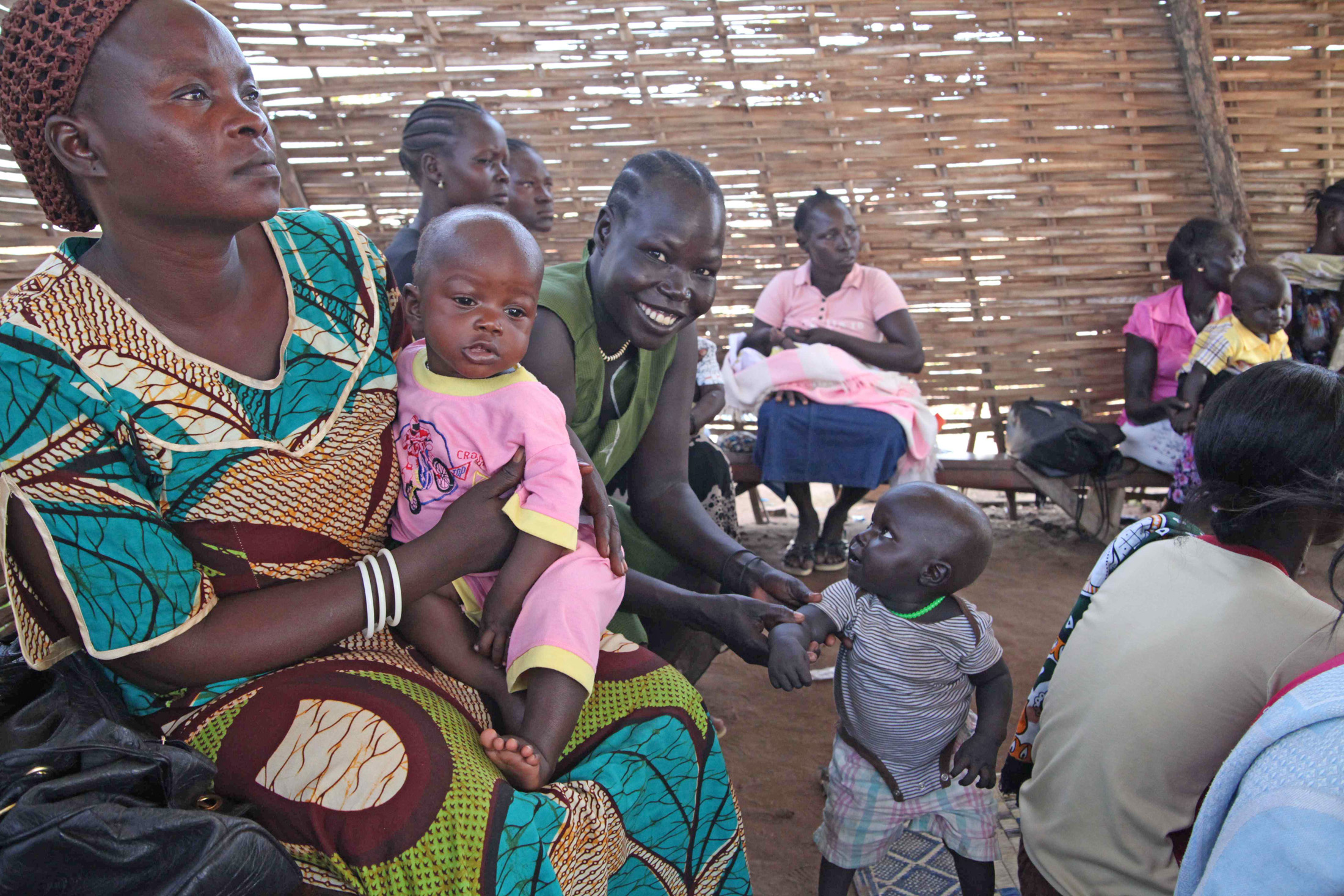 Women in South Sudan have never had the choice about when to have children