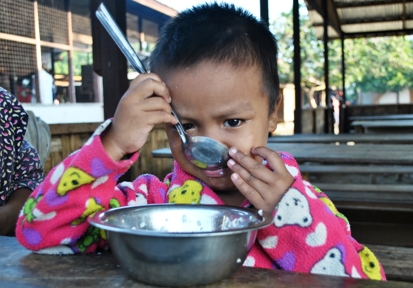 Kachin State young IDP in November 2012