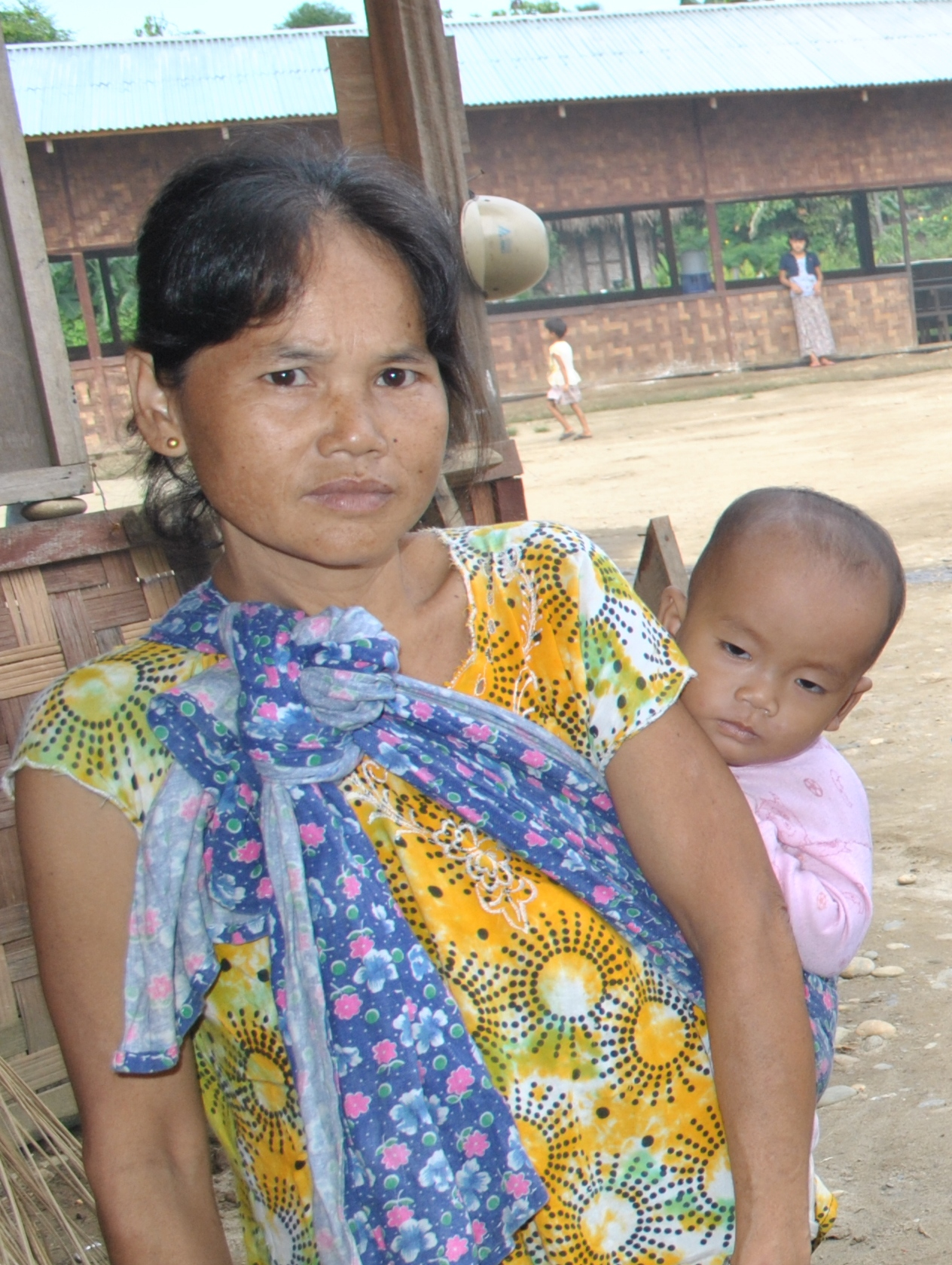 Zing Htung Htu, Kachin IDP in November 2012
